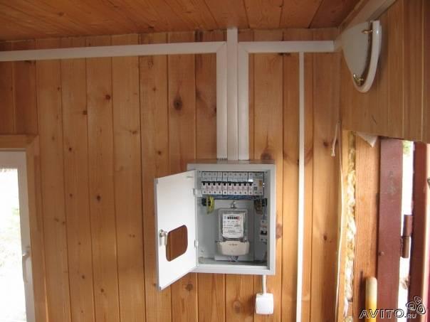Электропроводка в щитовом доме своими руками пошаговая